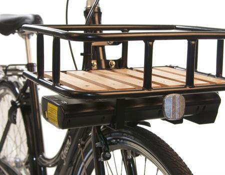 lad til cykel foran